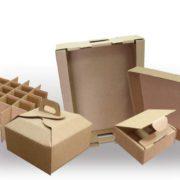 варианты упаковок из картона
