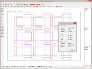 Пример работы программы Pos CAD